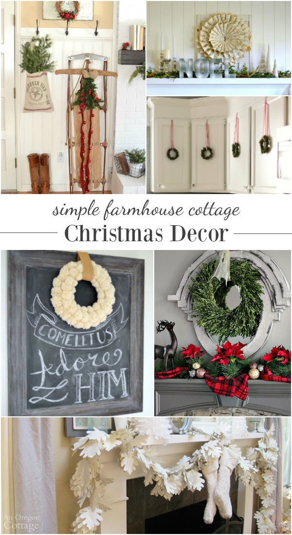DIY Projects And Room Tours For Inspiration To Help Create A Clean And  Simple Farmhouse Cottage