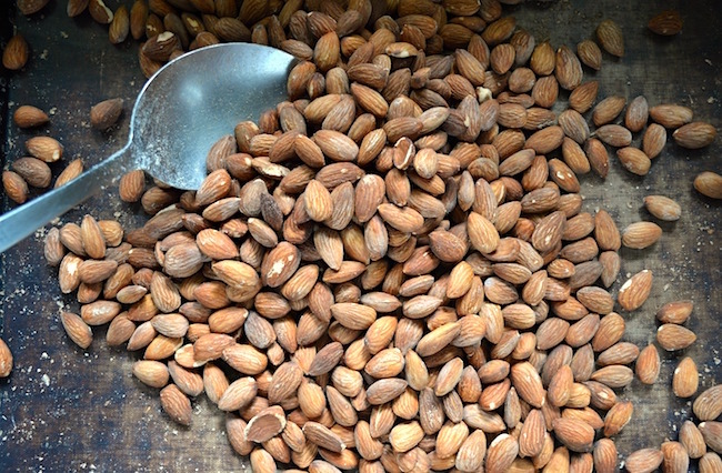 Roasted Almonds perfectly salted and delicious