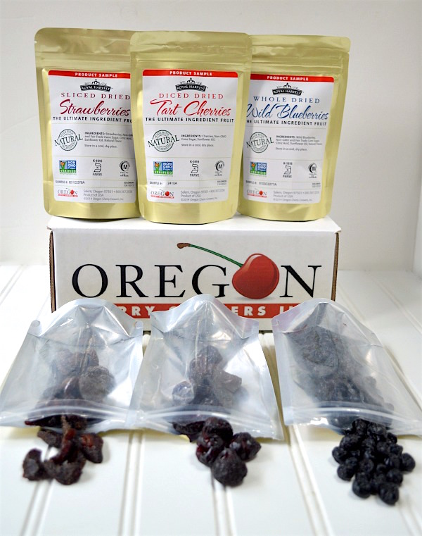 Dried fruit from Oregon Cherry Growers