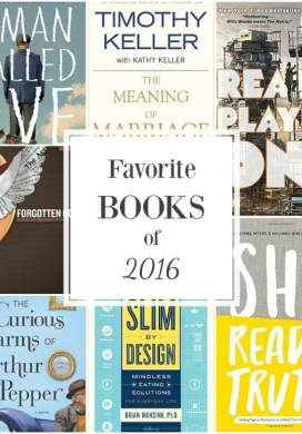 My Top Books Read in 2016 {+ the first books for 2017}