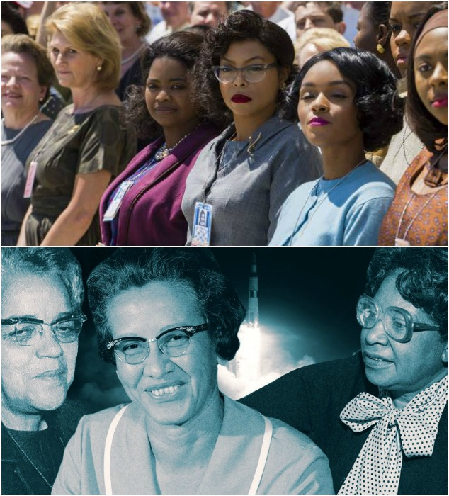 Hidden Figures movie and real Hidden Figures women