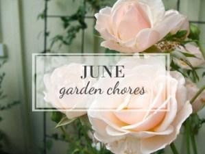 June Garden Task Checklist