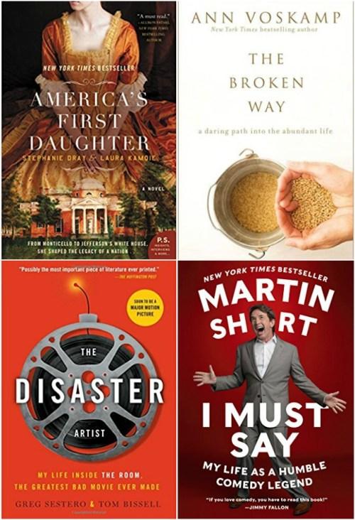 Books read 7-17