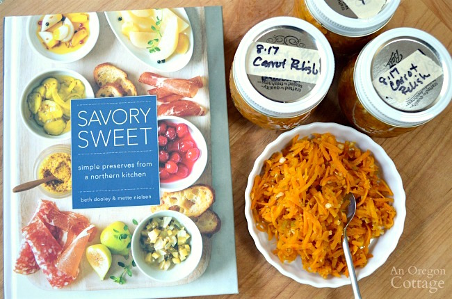 Carrot Relish from Savory Sweet cookbook