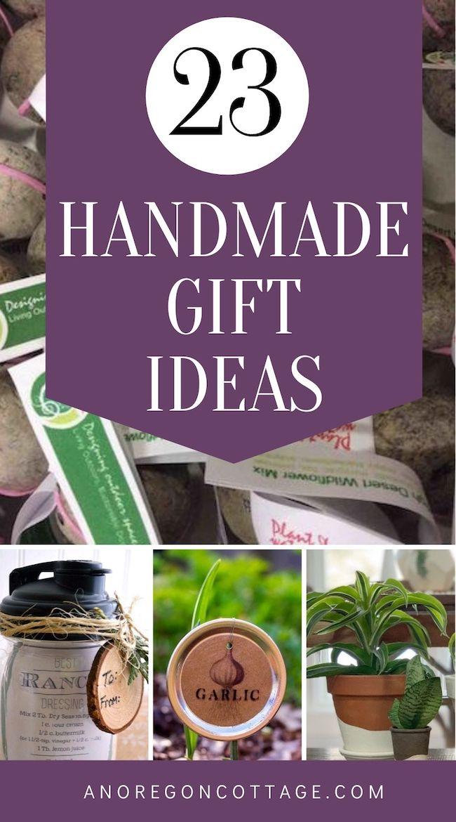 handmade gift ideas pin