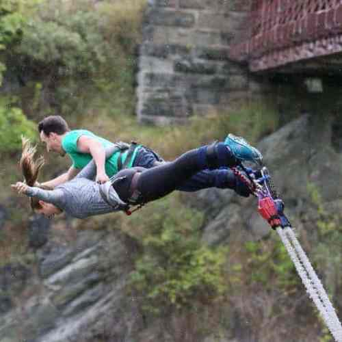 The bungee jump analogy - help your anorexic son or daughter to eat
