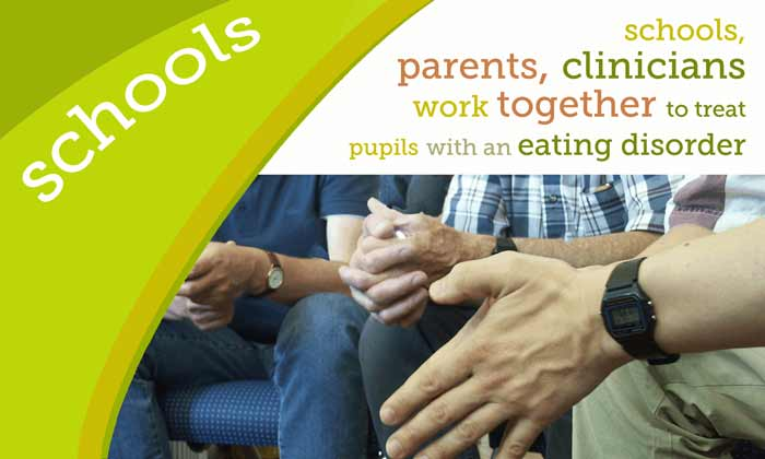 Schools, parents, clinicians work together to treat pupils with an eating disorder