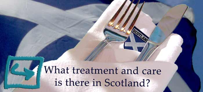 Scotland treatment care eating disorders