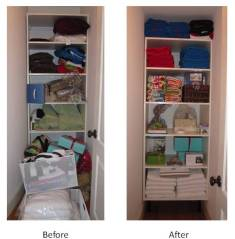 Closet Before & After (June 2010)