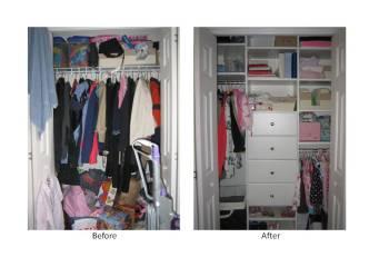 Organized Closet June 2010