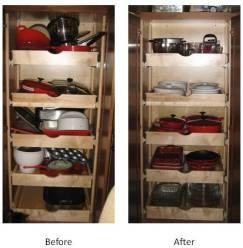 Organized Kitchen Closet June 2010