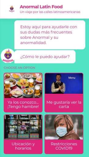 chatbots conversacionales restaurantes