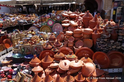 Pottery and tajines