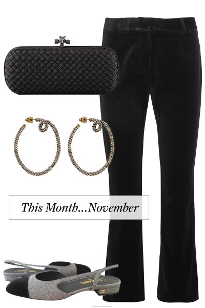 This Month…November…Thinking About What To Wear