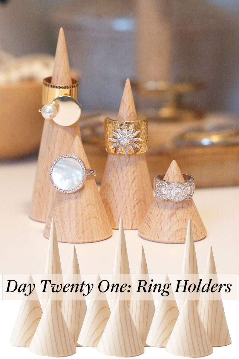 Counting Down To Christmas – Day 21 – Ring Holders