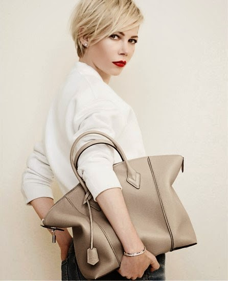Louis Vuitton Campaign with Michelle Williams