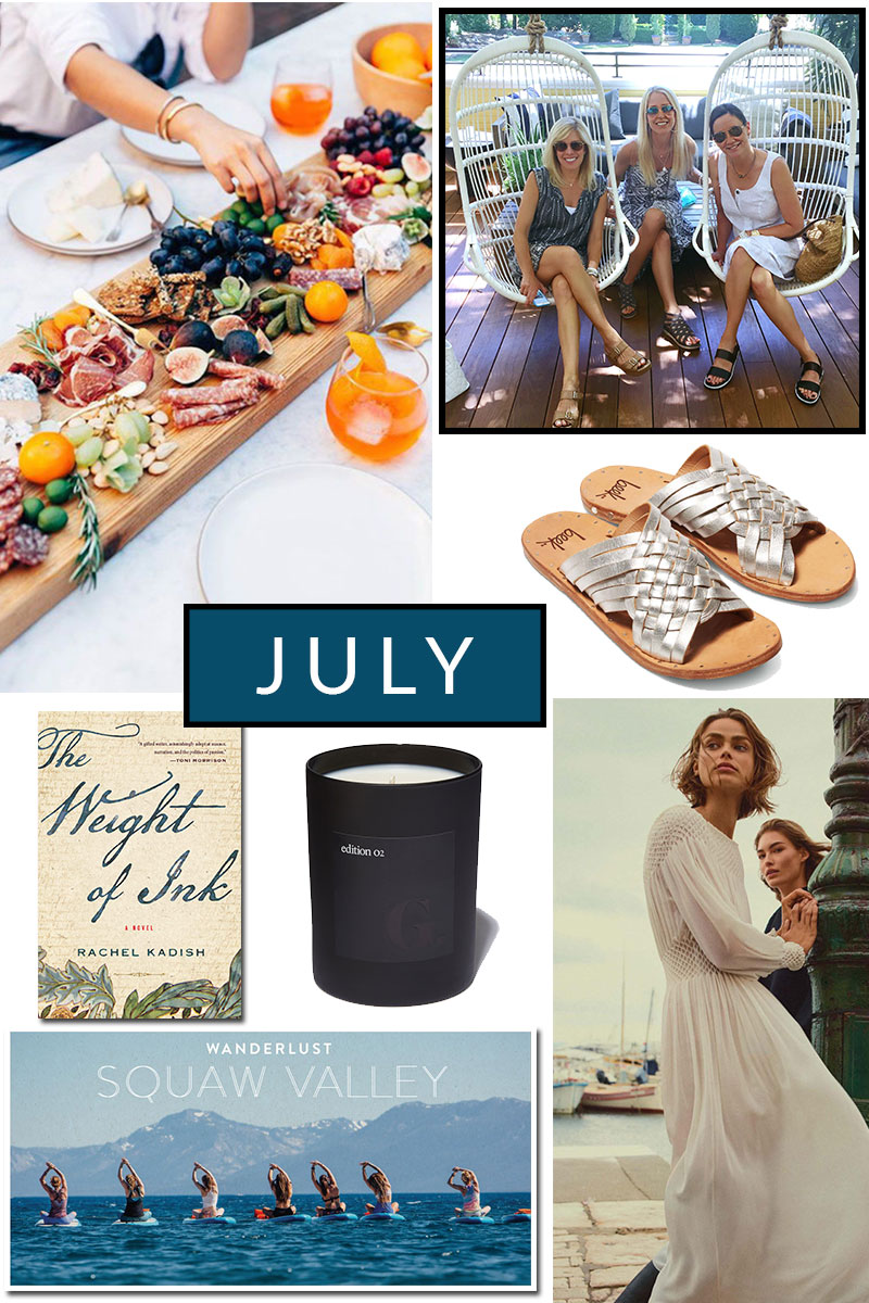 July Notes…Summer's in Full Swing