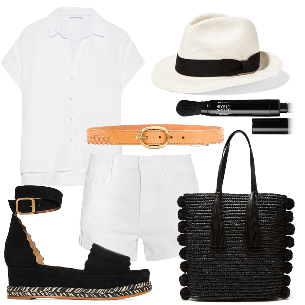 Favorite Summer Pieces in Black And White