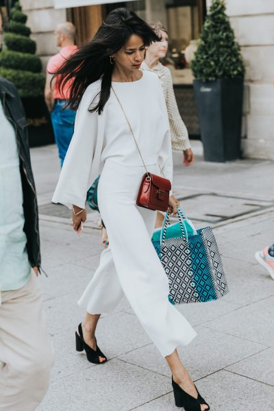 Perfection in White – Street Style