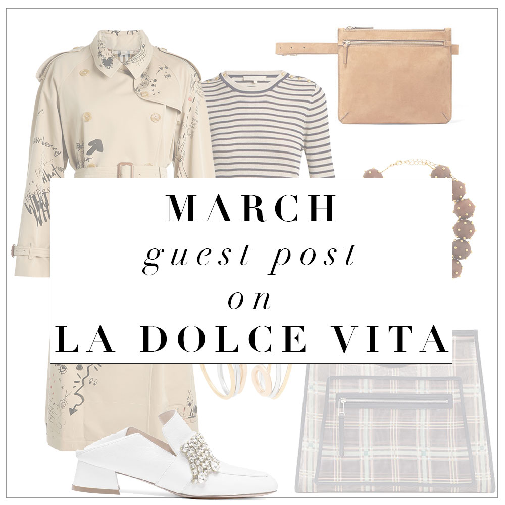 March Guest Post on La Dolce Vita…