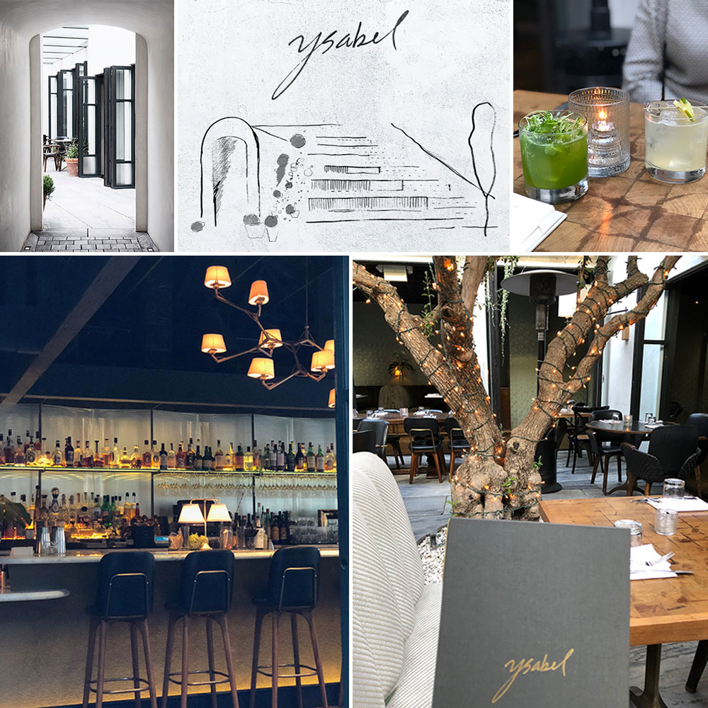 Dining at Ysabel in L.A.