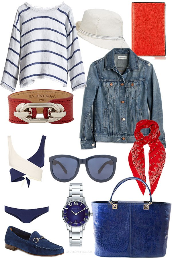 The Classics: Stripes, Wicker, Red, White and Blue