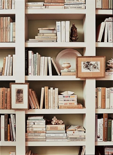 Styling a book case