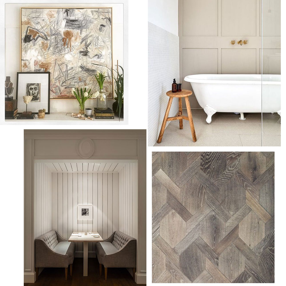 A Note on Style Moodboard for February. Guest Posting on la Dolve Vita blog.