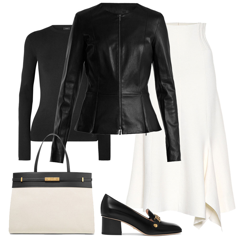Capsule Collection – The Black Leather Jacket