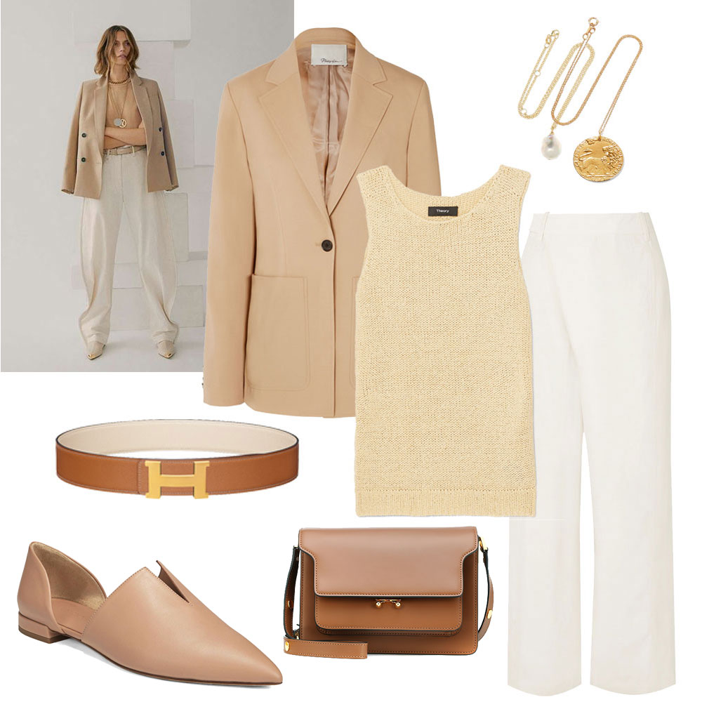 Capsule Collection – The Tan Blazer