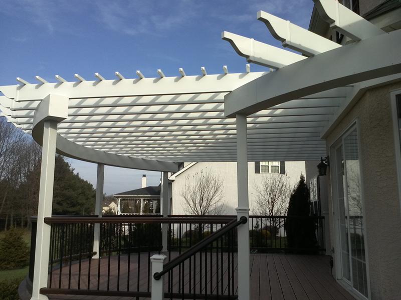 Pergola Designs For Decks Pergola Builders Amazing Decks