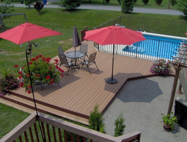 pool deck designs for when you want it