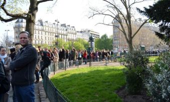 Paris Catacombs Line Queue