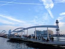 barcelona-weekend-harbor-bridge