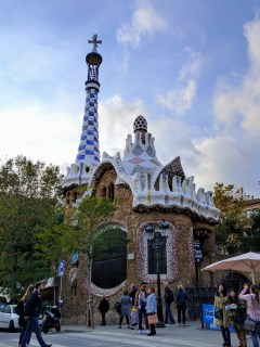 barcelona-weekend-park-guell-entry