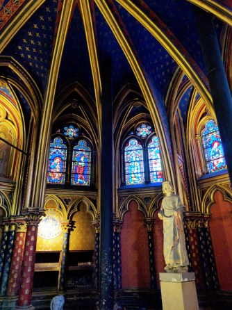 Sainte Chapelle Paris detail