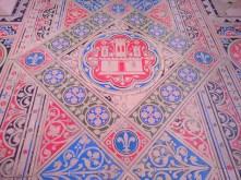 Sainte Chapelle Paris floor