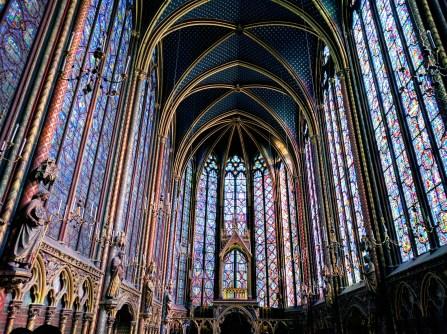 Sainte Chapelle Paris stained glass