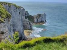 Normandy Etretat cliffs