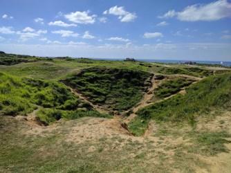 Normandy Pointe du Hoc craters