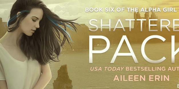 Shattered Pack by Aileen Erin Cover Reveal