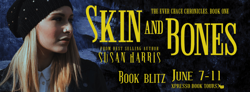 Skin and Bones by Susan Harris Release Blitz