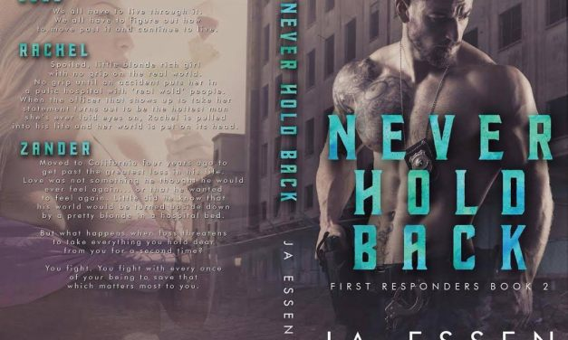 Never Hold Back by J.A. Essen Cover Reveal