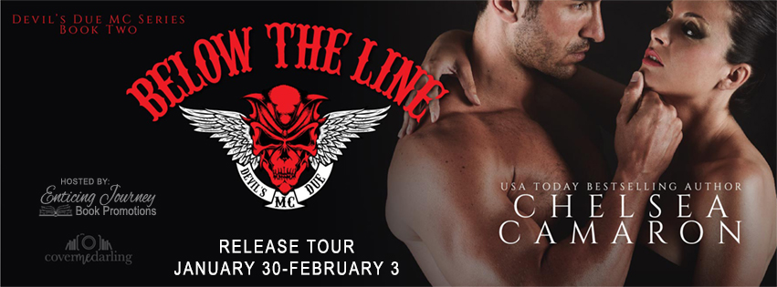 Below The Line by Chelsea Camaron Release Tour