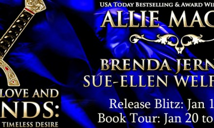 Lords of Love and Legends by Allie Mackay, Brenda Jernigan and Sue-Ellen Welfonder Release Blitz