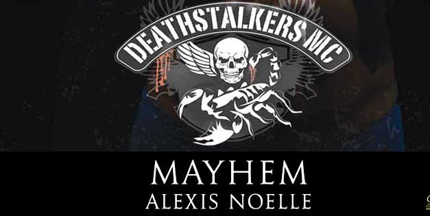 Mayhem by Alexis Noelle Cover Reveal