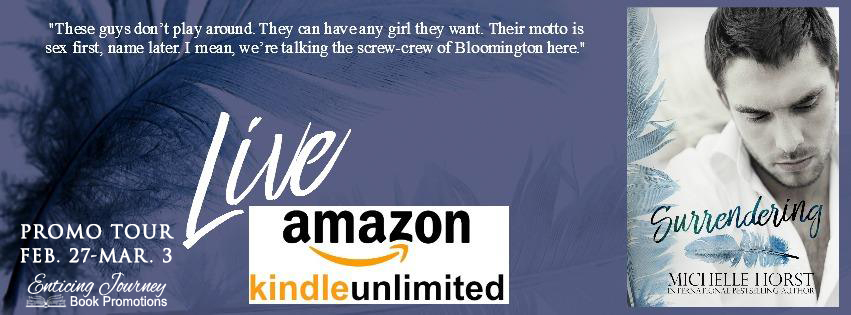 Surrendering by Michelle Horst Promo Tour