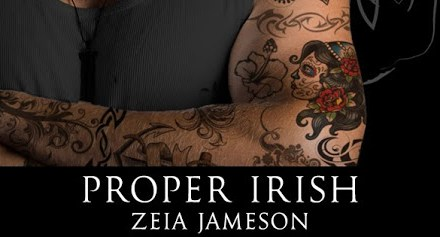 Proper Irish by Zeia Jameson Cover Reveal