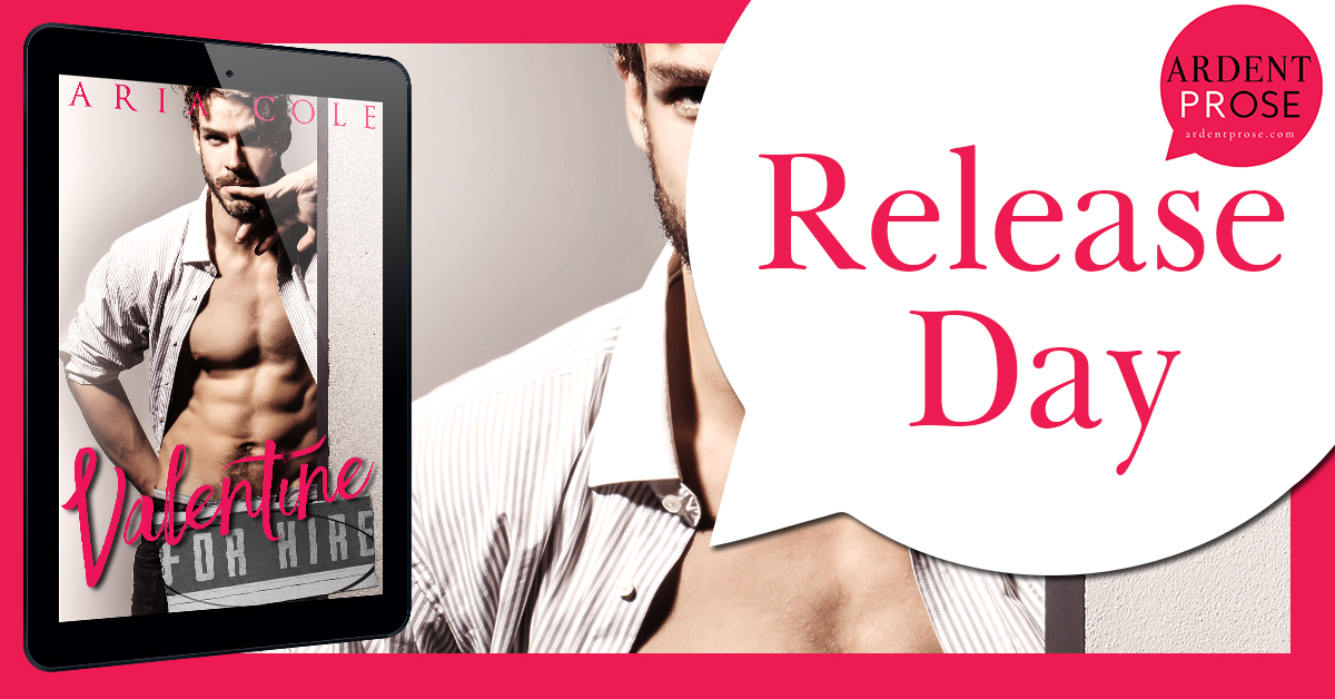 Valentine For Hire by Aria Cole Book Blast