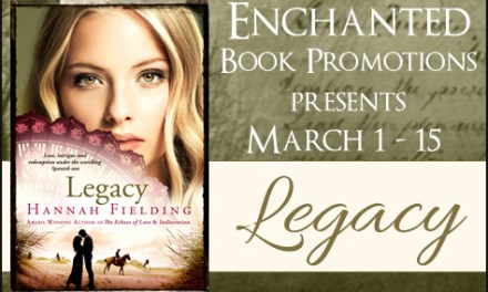 Legacy by Hannah Fielding Blog Tour